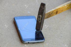 hammer destruct phone