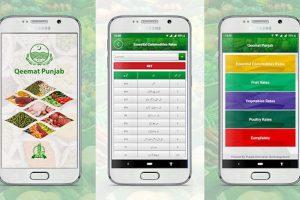 Qeemat Punjab App
