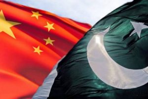 Flags Pakistan China