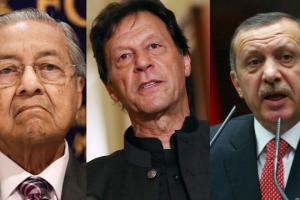 PM Imran Khan, PM Tayyip Erdogan, PM Mahathir Mohamad